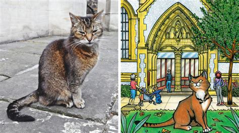 Southwark Cathedral's resident cat lands first book deal
