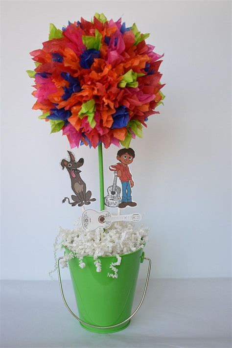 CoCo Inspired birthday party centerpiece, decoration
