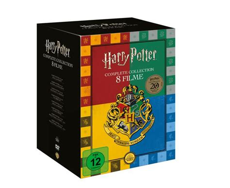 Harry Potter DVD Collection (exklusive Buchhandels-Edition