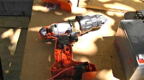Cordless Electric Drill Switch DC Motor Control - YouTube