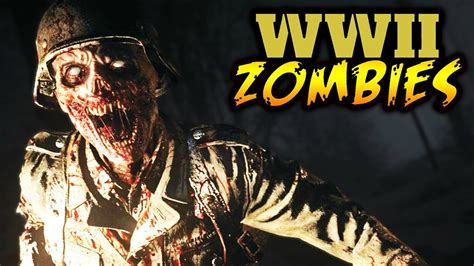 WW2 Zombies GAMEPLAY Details! (Boss Zombies, Wonder Weapon