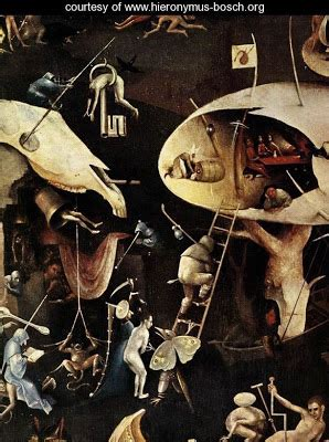 the art daily with Lydia: Hieronymus Bosch, Garden of