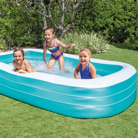 Intex Swim Center Family Inflatable Pool Only $24
