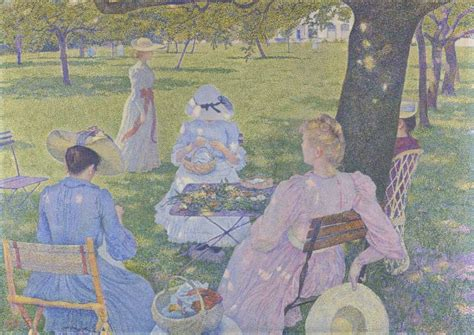 In July - before noon or The orchard – Kröller-Müller Museum