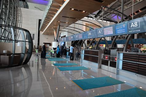 Oman Air New First and Business Class Lounge Muscat