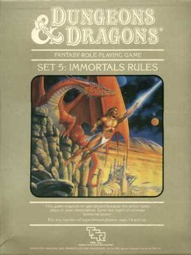 Dungeons & Dragons Immortals Rules - Wikipedia