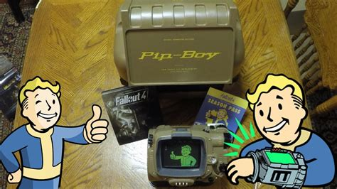 Fallout 4 Pip Boy Edition Unboxing Pocket Guide, Vault Tec