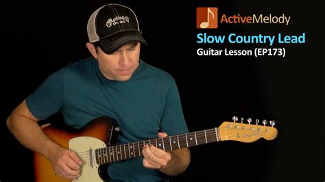 Slow and Easy Lead Country Guitar Lesson - Country Lead