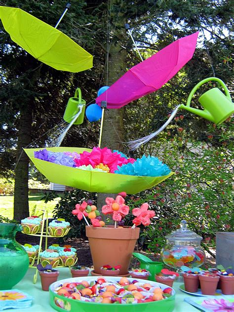 Sweet & Petite Party Designs: April Showers Bring May
