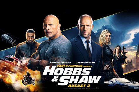 Movie Review; Fast & Furious Presents: Hobbs & Shaw