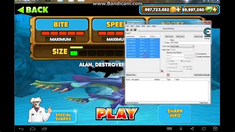 How To Hack Hungry Shark Evolution! On BlueStacks With