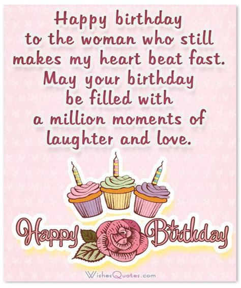 100+ Sweet Birthday Wishes for Wife By WishesQuotes