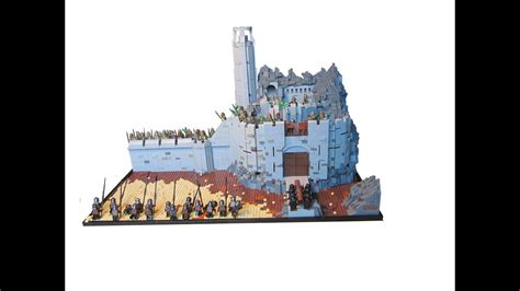 LEGO Lord of The Rings Custom Helms Deep Moc - YouTube