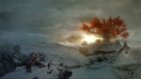 Game of Thrones _ Weirwood Tree of the Three Eyed Raven