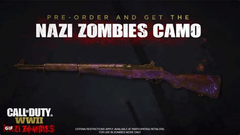 Pre-order Call of Duty: WWII and get an animated Nazi