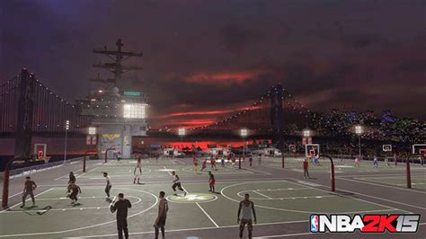 Tour of the New Old Town Flyers NBA 2K15 MyPARK Court