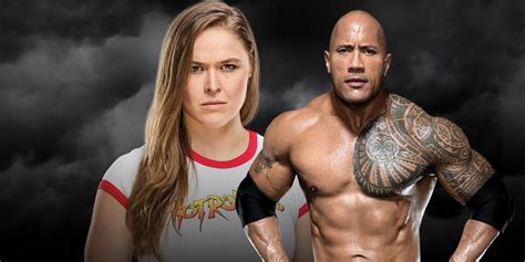 Ronda Rousey and The Rock Could Soon Become a WWE Dream Team