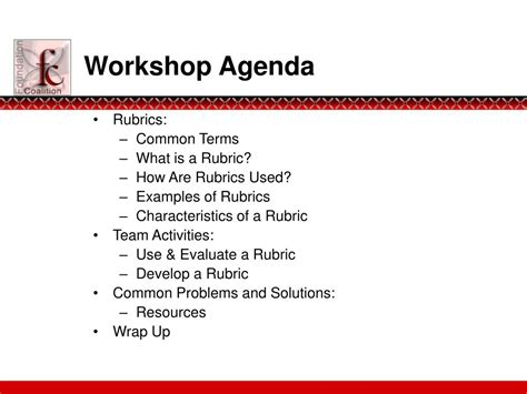 PPT - Constructing Rubrics for Open-ended Activities
