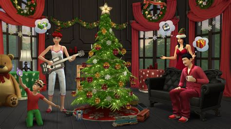 The Sims 4 Holiday Celebration (Free Game Pack) - Sims Online