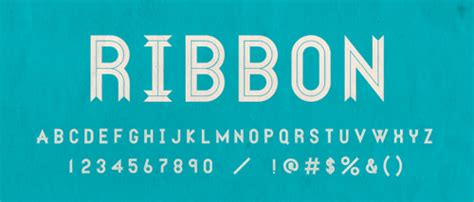 30+ High Quality Ribbon Fonts To Enhance Your Design