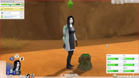 sims 4- wtf is an alien crater? - YouTube