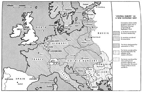 What were Germany's long-term aims in World War I