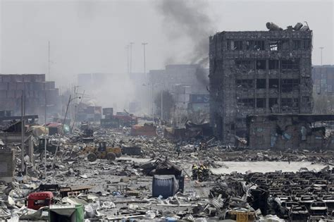 Chemical Nuclear Experts Test Tianjin Blast Site | Al
