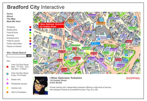 Interactive Map Used on Websites & Mobiles