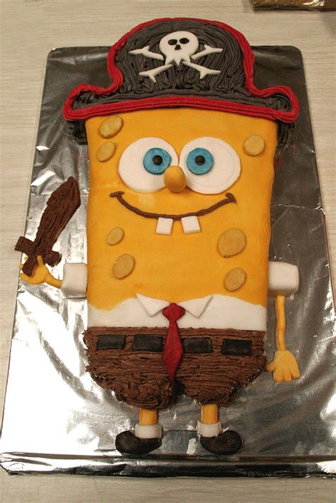 The Best Home Made Sponge Bob Cake in The World Ever